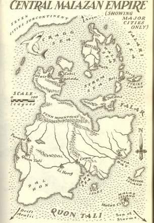 Map - Central Malazan Empire