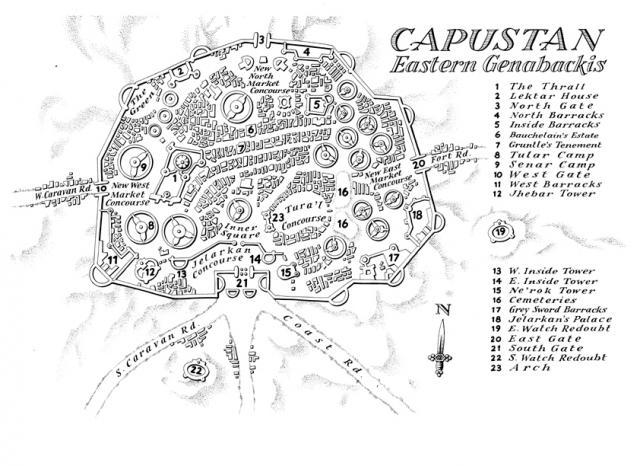 Capustan Map