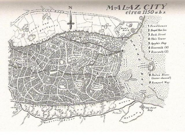 Map - Malaz City