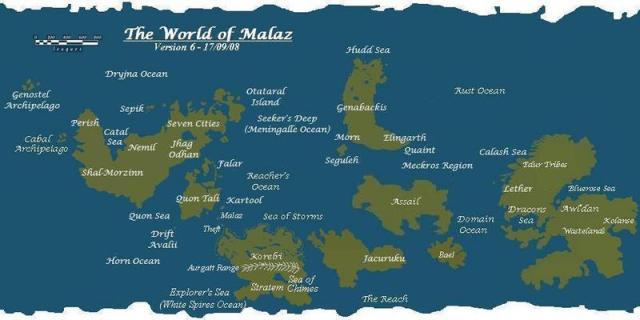 Werthead's World Map, v6
