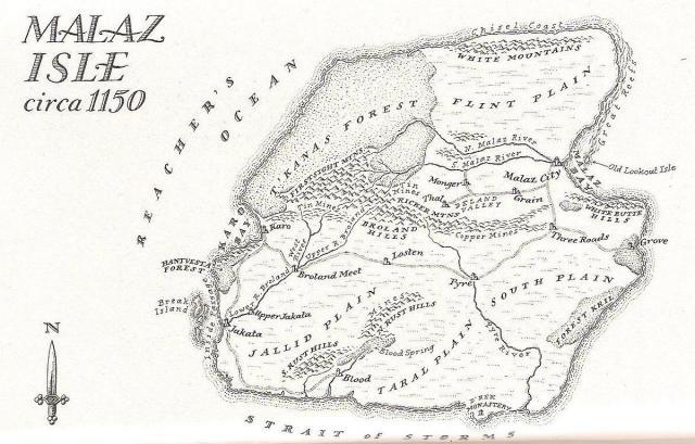 Map - Malaz Isle
