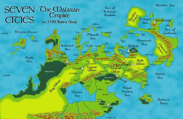 Nagrom's A3 Seven Cities Map