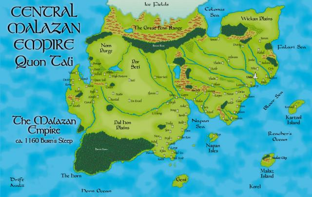 Nagrom's A3 Quon-Tali Map