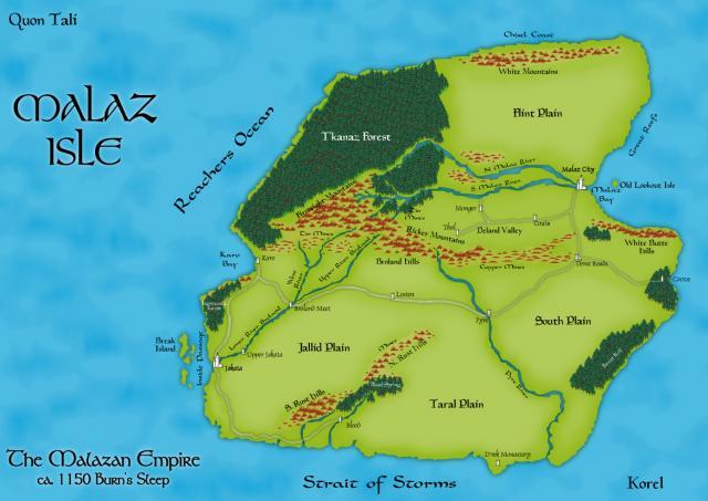 Nagrom's A3 Malaz Island