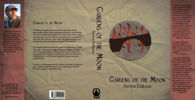 Gardens of the Moon Cover design