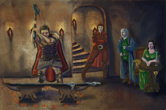 Brood, Vorcan, Baruk and Derudan