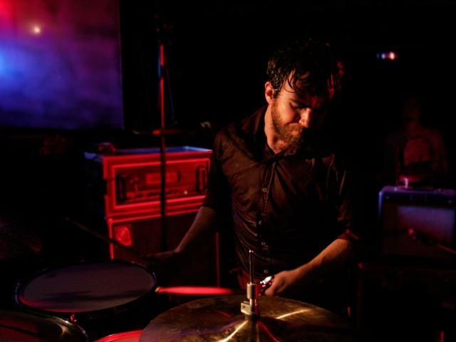 Liam Finn playing at ReFuel, Dunedin
